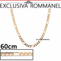 Rommanel Corrente Cordao Masculino Alternado 3x1 60cm 530097