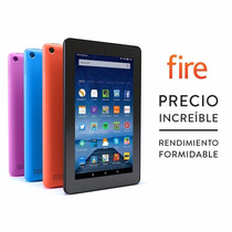 Tablet Kindle Fire 7 8gb/1gb Ram Wifi Cámara 2mp Quad Core