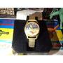 Antiguo Reloj Suizo Pulsera Vintage Alunizaje Espacial 1969