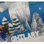 Figuras En Anime Frozen!elsa,olaf,anapara Fiestas,decoracion