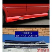Estribos Laterales Deportivos Vw Jetta A3 Golf A3
