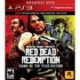 Red Dead Redemption Ps3 C/n Modo Zombie Cd Fisico Sellado