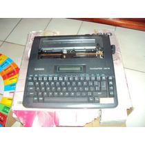 Maquina De Escrever Elétrica Da Casio No Estado
