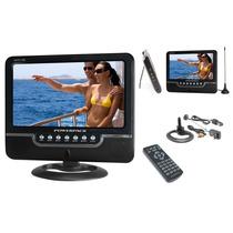 Tela Tv Lcd Monitor Câmera 7 Powerpack Avtv 745 Usb Av Sd