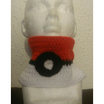 Cuello A Crochet Pokebola