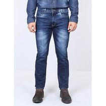 Calça Reta Jeans Masculina Murano