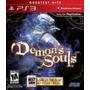Demons Souls Ps3 Nuevo Original Domicilio - Jgames