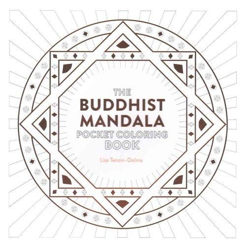 Budista Mandala Pocket Para Colorear Libro: 26 Diseños - $ 68.111 en ...