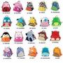 3 Unidades Mochila Infantil Animais Escola Bebê Stilo Creche