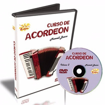 Curso Acordeon Volume 2 Em Dvd Frete Gratis
