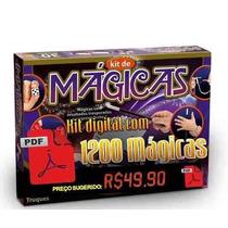 1200 Mágicas Kit Profissional 100% Em Pdf