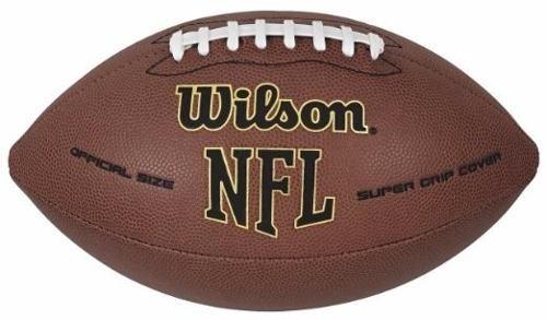 Bola Futebol Americano Wilson Nfl Super Grip - Em Couro - R  79 8386f1c895452