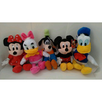Pelucias Disney( Mickey/minnie/pateta/donald Ou Margarida