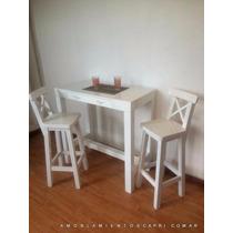 Mesa Desayunador Auxiliar - Barra Cocina 120x50