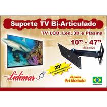 Suporte De Tv Bi-articulado 10 A 47 Polegadas Lidimar