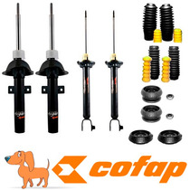 Kit 4 Amortecedores Ford Ka Ate 2007 +kits+coxim