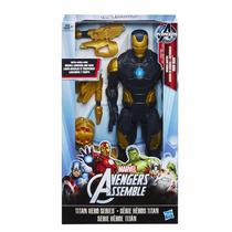 Boneco Boneco Marvel Luxo Homem De Ferro Titan Hero 30cm
