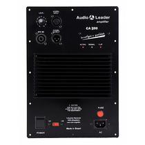 Promoção! Amplificador Audio Leader Para Caixa De Som Ca 200