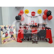 Mesa De Dulces Temática Infantil Minnie Mouse