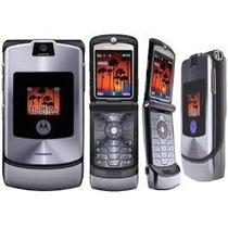Motorola V3i Nuevo Libre Plata Español Mp3 Bluetoot V3