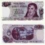 Billete 10 Pesos Ley Reposicion Bottero 2358 Sin Circular