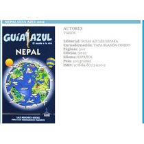 Nepal Guia Azul Guia De Viaje