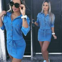 Vestidos Jeans , Atenção O Prazo De Envio!!!