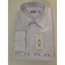 Camisa Social Masculina Branca Coleccione + Frete Gratis