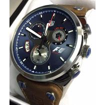 Relogio Carrera Azul Prata Formula 1 Pronta Entrega Top