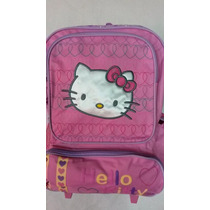Morral De Ruedas Hello Kitty