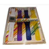 Relógio Mondaine Twist Vibe Troca Pulseira 94410l0mcnp1 Braa