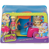 Polly Pocket Veículos Carrinho Pet Mattel - Ref.:cmg40