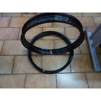 Aro Roda Aluminio 18-1.85 Preto Bilhante Monaco