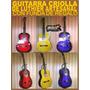 Guitarra Criolla Con Funda Estudio Luthier Artesanal