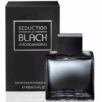 Perfume Antonio Banderas Seduction In Black For Men 100ml Ed