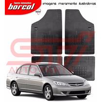 Tapete Borracha Milano B Honda Civic 2000 2001 2002 Borcol