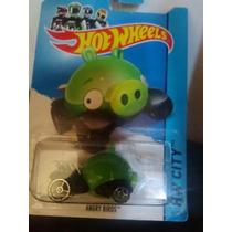 Hotwheels Angry Bird Verde 2013