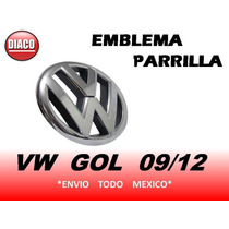Emblema De Parrilla Vw Gol Saveiro 2009 2010 2011 2012