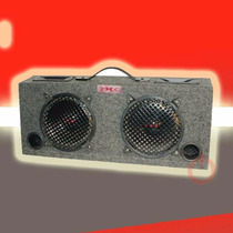 Caja Ductada Doble Doble Woofer Tweeter 250 Watts Xxx By A.p