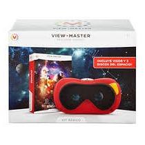 View Master Paquete De Visor Y Tres Discos Mattel