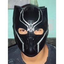Marvel Dc Comics Mascara Tipo Luchador Black Panther Adulto