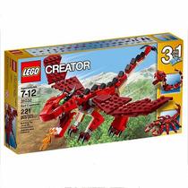 Lego Creator 3 En 1 Dragon, Escorpion Y Serpiente 31032