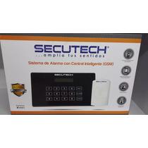 Sistema De Alarma Con Central Inteligente Secutech