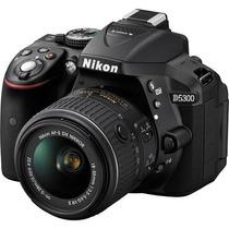 Nikon D5300 Kit 18 55 Vr Full Hd 24mp Wif Gps. Mar Del Plata