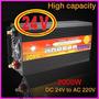 Inversor Conversor 24v 220v - 2000 Watts Reales Pico 4000w