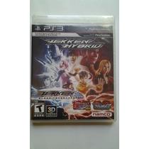 Ps3 Tekken Hybrid 3d $355 Pesos - Nuevo - Vendo / Cambio