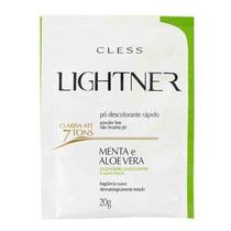 Lightner Pó Descolorante Rápido - Menta E Aloe Vera 20g
