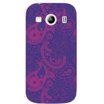 Funda Case Samsung Galaxy Ace 4 - Paisley Morado Con Rosa