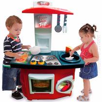Brincando Casinha Cozinha Infantil Top Flor Completa