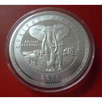 Zambia Moneda Vida Salvaje Elefante 1000 Kwacha Unc 2014